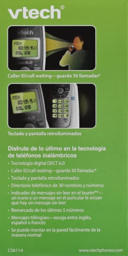 VTech® Cordless Phone Perspective: right