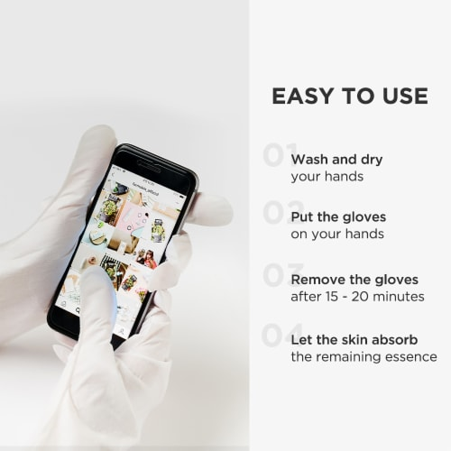 Pick Up & Go 15 Sheets Smoothing Avocado Hand Mask Perspective: right