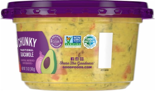 Good Foods™ Chunky Traditional Guacamole Perspective: right
