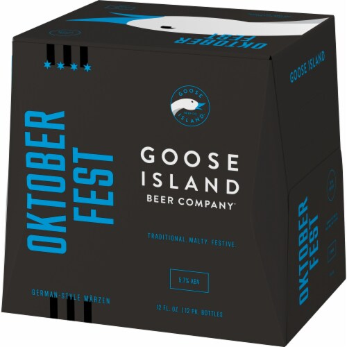 Goose Island Seasonal Beer Perspective: right