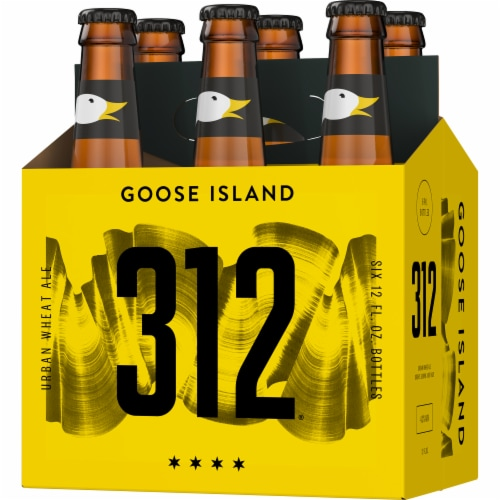 Goose Island 312 Urban Wheat Ale Perspective: right