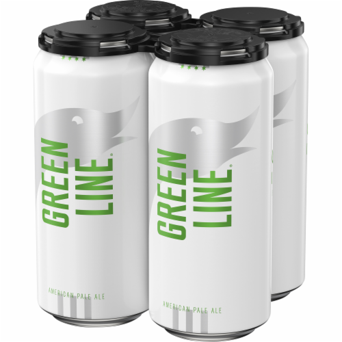 Goose Island Green Line Pale Ale Cans Perspective: right