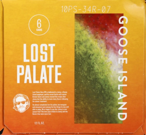 Goose Island Lost Palate Hazy IPA Perspective: right