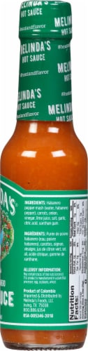 Melindas Original Habanero Hot Sauce Perspective: right