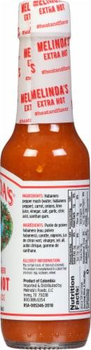Melinda's Original Habanero Extra Hot Pepper Sauce Perspective: right