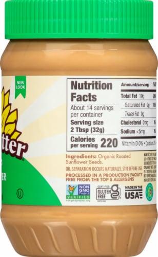 SunButter Organic Sunflower Butter Perspective: right