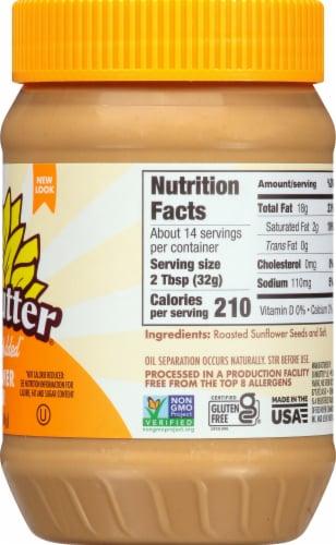 SunButter No Sugar Added Sunflower Butter Perspective: right