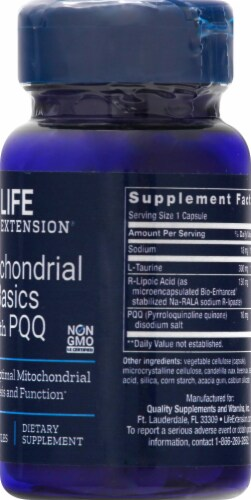 Life Extension  Mitochondrial Basics with BioPQQ® Perspective: right