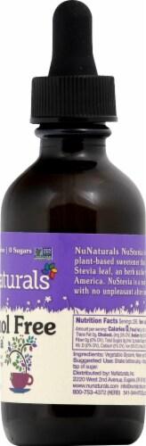 NuNaturals Vanilla NuStevia Herbal Supplement Perspective: right