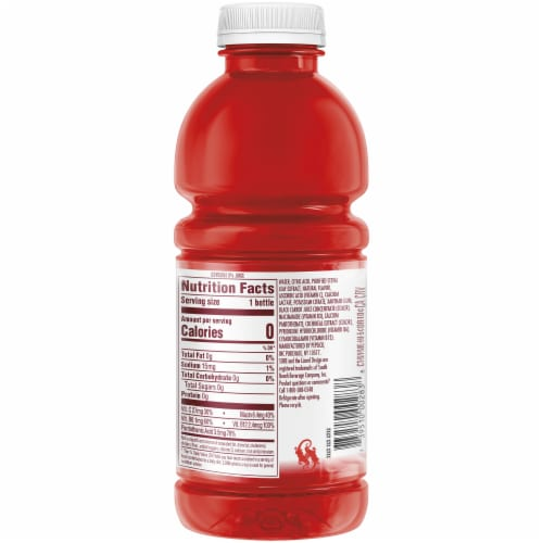 SoBe Water Yumberry Pomegranate Nutrient Enhanced Hydration Beverage Perspective: right
