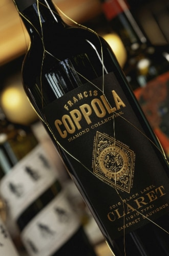 Francis Coppola Diamond Collection Claret Perspective: right