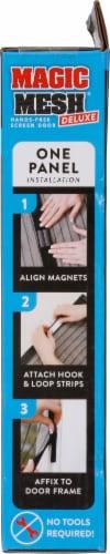 Magic Mesh Magnetic Screen Door Perspective: right