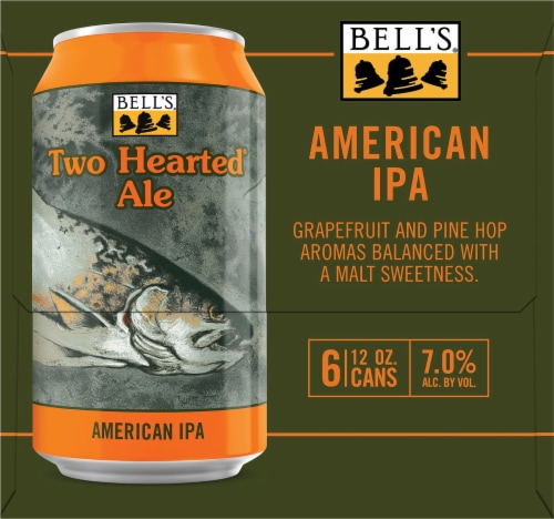 Bell's Two Hearted Ale American IPA Perspective: right