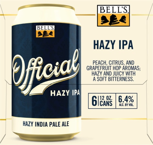 Bell's Official Hazy IPA Perspective: right