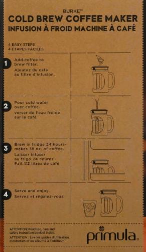 Primula Burke Cold Brew Coffee Maker - Black Perspective: right