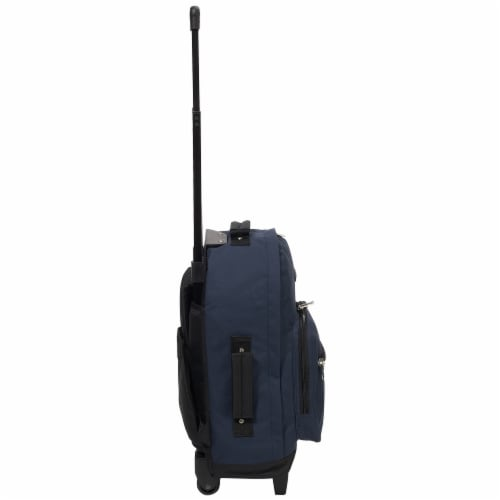 Everest Wheeled Backpack - Navy/Black Perspective: right