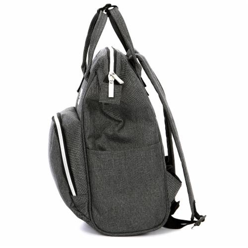 Everest Mini Back Backpack Handbag - Gray Perspective: right