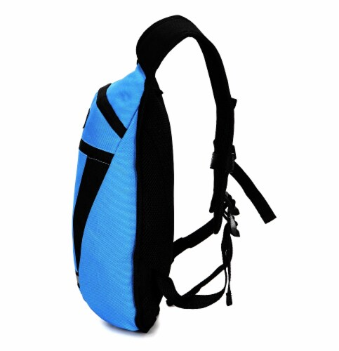 Everest Mound Hiking Pack - Royal Blue / Black Perspective: right