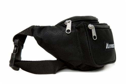 Everest Signature Small Waist Pack - Black Perspective: right