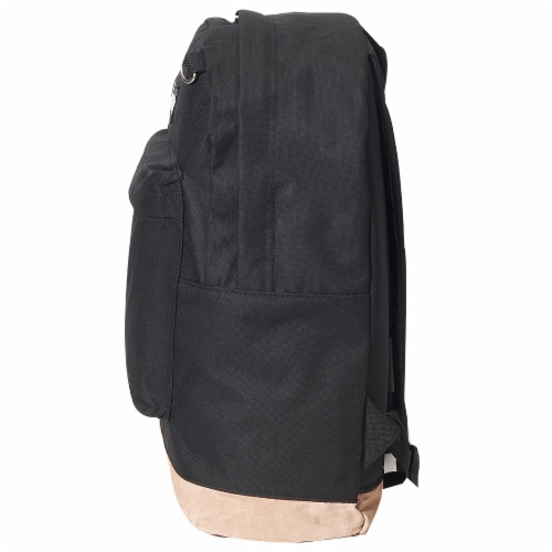 Everest Suede Bottom Backpack - Black Perspective: right