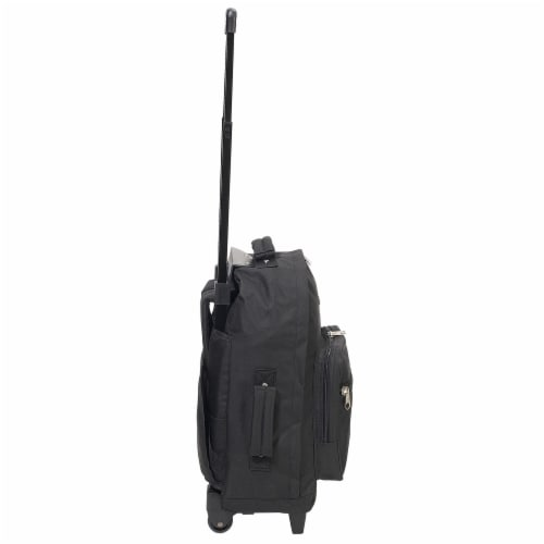 Everest Wheeled Backpack - Black Perspective: right