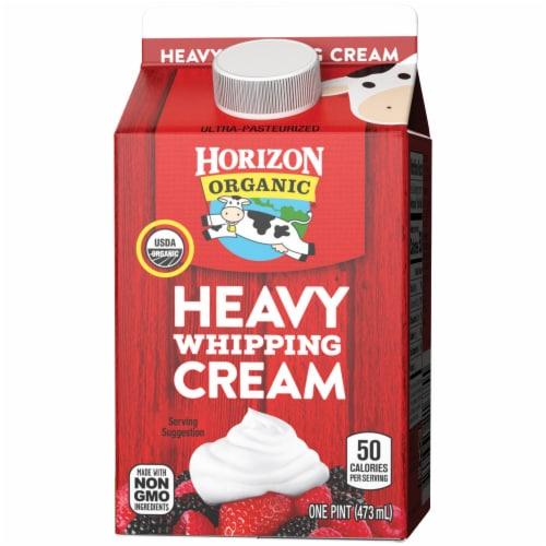 Horizon Organic Heavy Whipping Cream Perspective: right