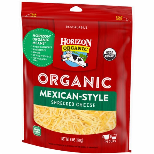 Horizon Organic Mexican Shredded Cheese Perspective: right