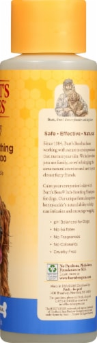 Burt's Bees Itch Soothing Shampoo for Dogs Perspective: right