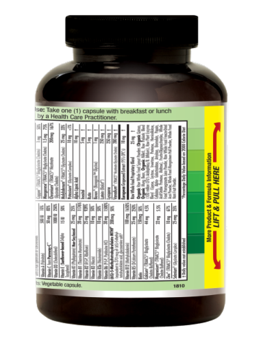 Emerald 1-Daily Women's Multivitamin Vegetable Caps Perspective: right