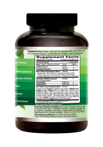 Emerald Labs Vision Health Capsules Perspective: right