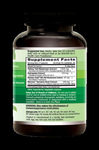 Emerald Deep Immune Health Vegetable Caps Perspective: right