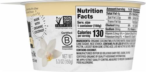 SO Delicious Vanilla Coconutmilk Yogurt Alternative Perspective: right