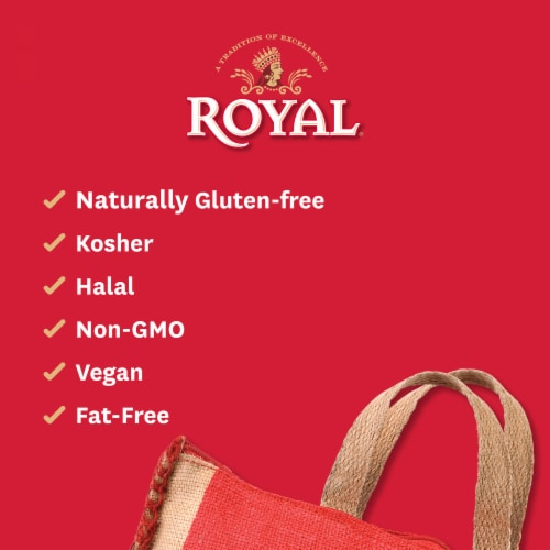 Royal White Basmati Rice Perspective: right