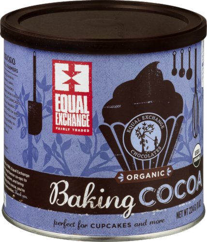 Equal Exchange Organic Baking Cocoa Perspective: right