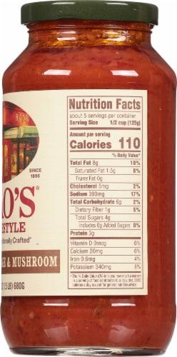 Rao's Homestyle Italian Sausage & Mushroom Sauce Perspective: right