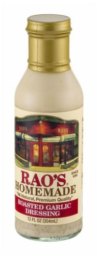 Rao's Homemade Roasted Garlic Vinaigrette Perspective: right
