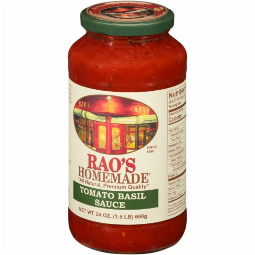 Rao's Homemade Tomato Basil Sauce Perspective: right