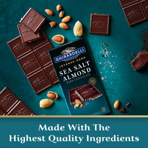 Ghirardelli Intense Dark Sea Salt Soiree Dark Chocolate Perspective: right