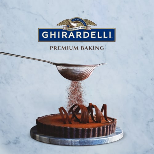 Ghirardelli 100% Unsweetened Premium Baking Cocoa Powder Perspective: right