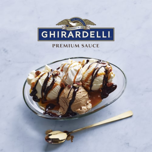 Ghirardelli Caramel Premium Sauce Perspective: right