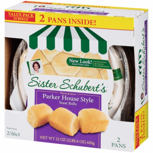 Sister Schbert's Parker House Style Yeast Rolls Perspective: right