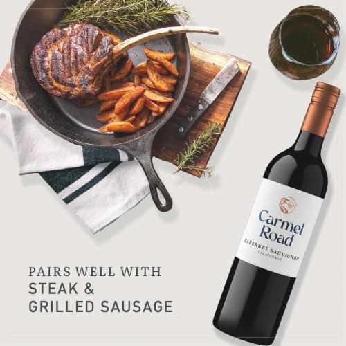 Carmel Road California Cabernet Sauvignon Red Wine Perspective: right