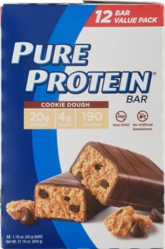 Pure Protein® Cookie Dough Bars Perspective: right