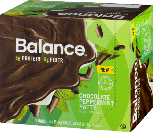 Balance Bar Gold Chocolate Mint Cookie Crunch Perspective: right