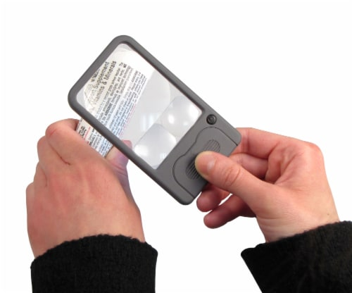 Carson LED Lighted Pocket Magnifier Perspective: right