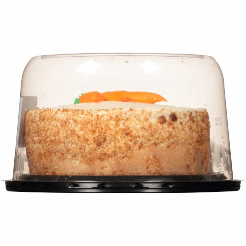 Carrot Cake with Cream Cheese Icing Perspective: right
