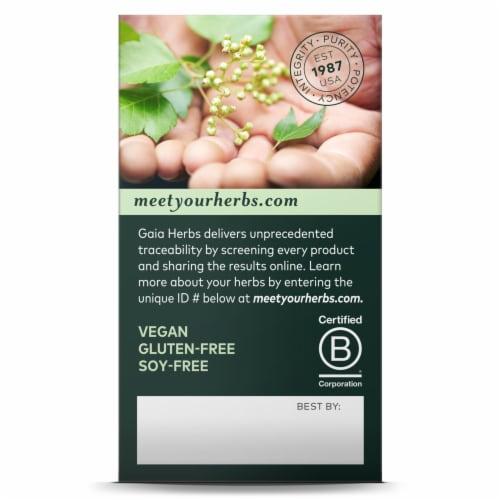 Gaia® Herbs SleepThru® Herbal Supplement Perspective: right