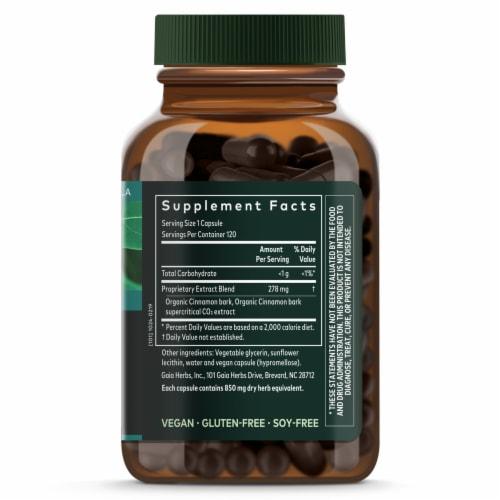 Gaia Herbs Single Herbs Cinnamon Bark Perspective: right