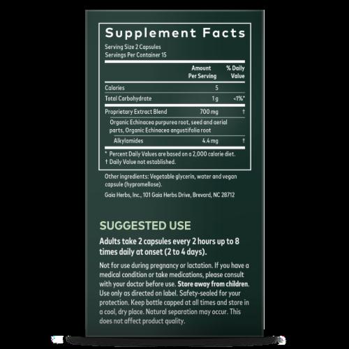 Gaia Echinacea Supreme Immune Support Perspective: right