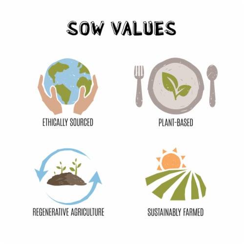 Seeds of Wellness Gluten-Free Chickpea Chia Sedanini Pasta Perspective: right